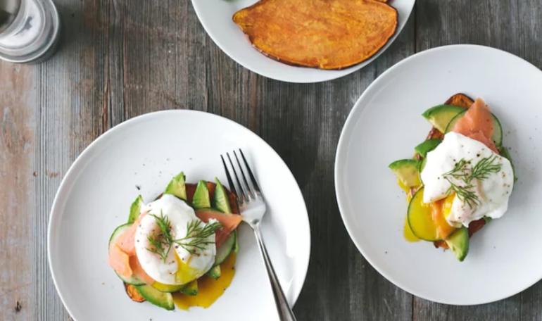 avocado lox breakfast